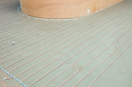 Electric underfloor heating is more viable for refurbishments as installation doesn't involve digging up floors.
