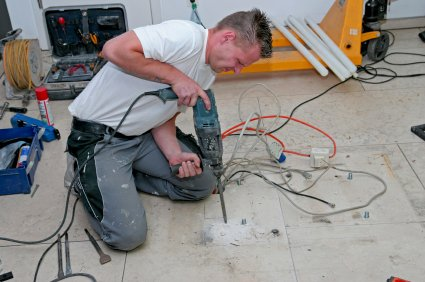 Depending on the amount of underfloor heating planned it can be a DIY Project