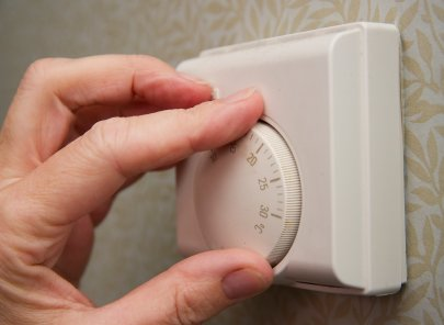 Thermostats help you to control temperature in each room